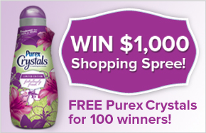 Win a $1000 Shopping Spree from Purex!