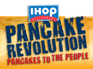 Sign up for the IHOP Newsletter and get Free Pancakes