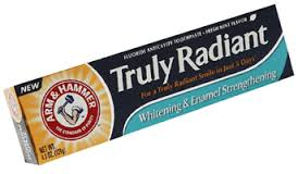 truly radiant arm & hammer toothpaste