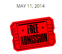 2014 Free Mothers Day Zoo Admission