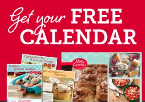 2015 Betty Crocker Calendar Giveaway
