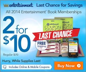 Entertainment Book Summer Savings