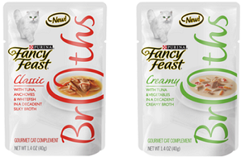Free Fancy Feast Broths Sample