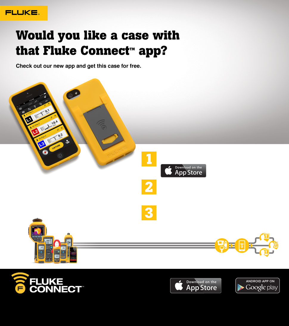 Free Fluke Connect Phone Case