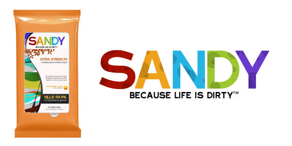 Free Sandy Multipurpose Wipes Sample
