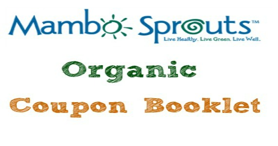 Coupon Book From Mambo Sprouts