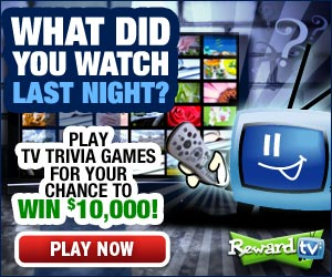 Win Cash and Prizes from Reward TV