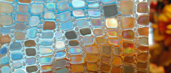 Stained Glass Window Films Samples