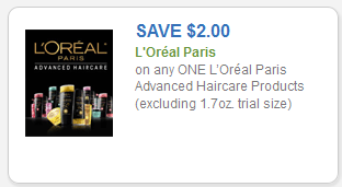 Instant Savings on One L'Oreal Paris Advance Haircare