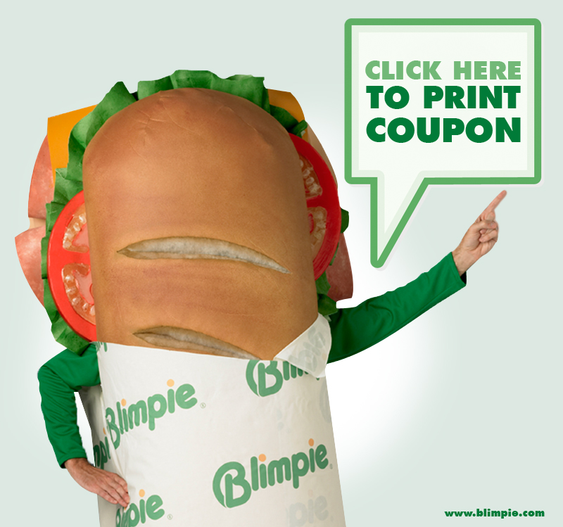 FREE Regular Sub with Blimpie