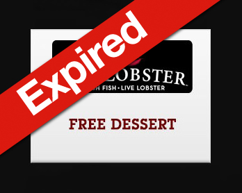 Free Dessert at Red Lobster