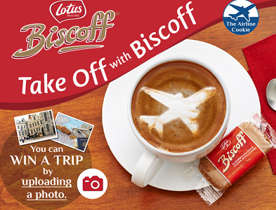 Take Off with Biscoff