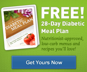 Free 28-Day Diabetic Meal Plan from Alliance Health.