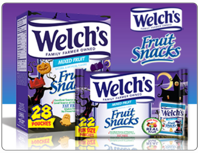 Welch's Fruit Mixed  Halloween Giveaway