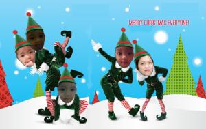Elf Yourself this Christmas Photo Freebie House — Free