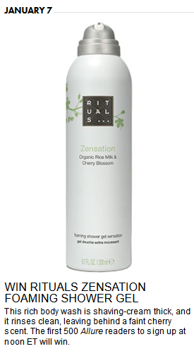 Ritual Zensation Foaming shower gel