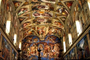 Sistine-Chapel-Ceiling-and-Altar-Wall