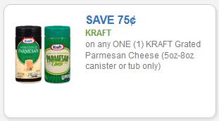 kraft parmesan cheese savings