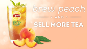 Free Sample Lipton Peach Iced Tea